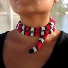 This Is The King-California Mountain King Snake. $40.00, via Etsy.