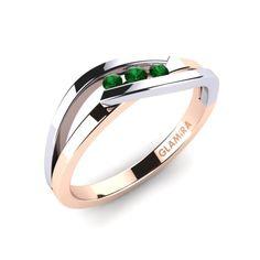 Glamira Ring Gratia - Women's jewelry Wedding Rings Simple, Wedding Rings Vintage, Wedding Rings For Women, Unique Rings, Beautiful Rings, Trendy Wedding, Wedding Bands, Simple Rings, Gold Wedding