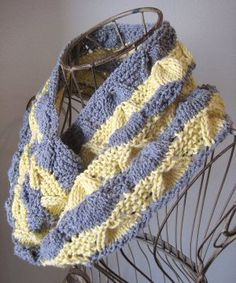 Forget Me Not Cowl | AllFreeKnitting.com