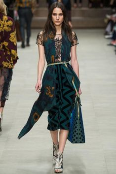Burberry Prorsum Fall 2014 Ready-to-Wear - Collection - Gallery - Look 1 - Style.com