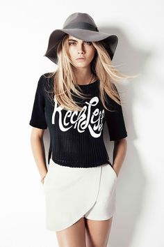 the Cara Delevingne Penshoppe collection - why do I love everything from this collection?