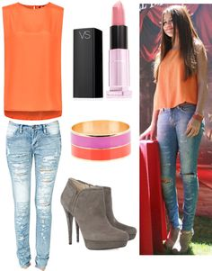 """""""Selena Gomez outfit"""" by mahi02 on Polyvore"""