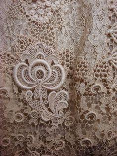 Edwardian Chemical lace blouse
