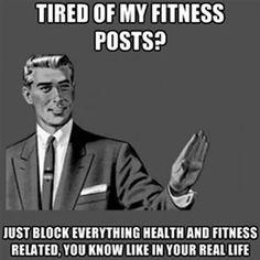 Fitness posts.
