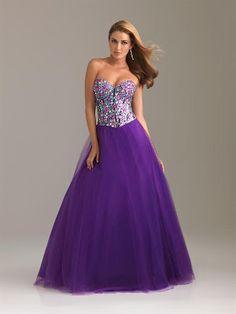Vestido de 15 años - Color Púrpura o Morado