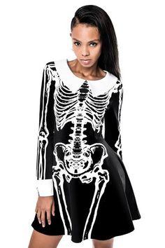 Morgue Living Dead Skater Dress [B]