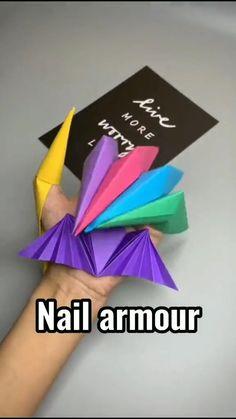 Diy Crafts For Girls, Diy Crafts To Do, Diy Crafts Hacks, Cute Crafts, Diy For Kids, Diys, Cool Paper Crafts, Paper Crafts Origami, Origami Art