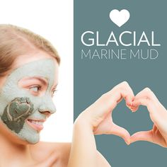 Extracts impurities, removes dead skin cells, and rejuvenates damaged skin. Nu Skin, Epoch Mud Mask, My Beauty, Beauty Skin, Marine Mud Mask, Glacial Marine Mud, Face Care, Skin Care, Beauty
