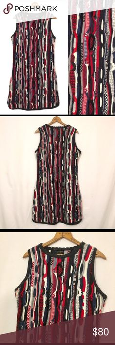 Authentic COOGI dress size XL Only worn once! Authentic COOGI ladies size XL dress fits great, red, white, blue and black COOGI Dresses Mini