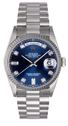 – Manufacturer: Rolex – Model Name: President – Model Number: 18239 – Condition: Certified Pre-owned with Box