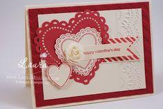 "Laura Milligan, Stampin' Up! Demonstrator - I'd Rather ""Bee"" Stampin!: Valentine"
