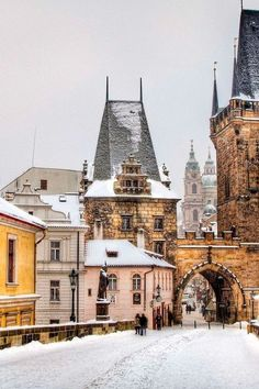 Winter in Prague - only the most beautiful place in the world!