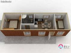China Container Home Mobile Prefab House   Large Image For Mobile House