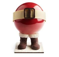This is a chocolate! The amazing work of Monsieur Pierre MARCOLINI. ***** xmas cake (¯`♥´¯) ***** Chocolate Navidad, Chocolate Christmas Gifts, Chocolate Santa, I Love Chocolate, Chocolate Heaven, Belgian Chocolate, Chocolate Treats, Chocolate Truffles, Christmas Desserts