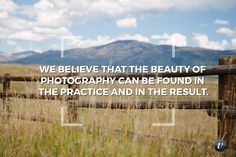"""We believe that the beauty of photography can be found in the practice and in the result."" #viewfindersio #photography #beauty"