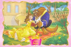 Belle and Beast Reading Together