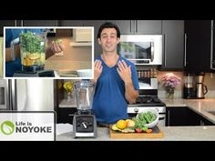 How to Make Green Juice in a Blender (without a juicer!) - YouTube Juicing With A Blender, Juicing For Health, Smoothie Drinks, Smoothie Recipes, Smoothies, Vitamix Recipes, Best Vitamix, Health Snacks For Work, Green Juice Recipes