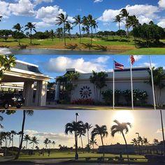 【akariii.03】さんのInstagramをピンしています。 《Kapolei Golf Course. . 空港から直でゴルフ場へ...🚘 スタートギリギリに着いたけどハワイアンタイムには関係ないらしい、日が暮れる時間まで、堪能させてもらいましたよ🙂❤️ .  #hawaii #HI #honolulu #travel #aloha #oahu #waikiki #beach #summer #bikini #summervibes #kalakaua #ハワイ #ホノルル #オアフ #アロハ #ワイキキ #夏 #海 #ビーチ #旅行 #旅 #癒し #golf #ゴルフ #ゴルフ女子 #カポレイ #kapolei》