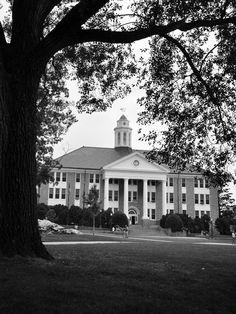 Wilson Hall at James Madison University <3