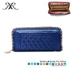 CARTEIRA PURSE Cor Azul Dimensões: 2 x 9 x 10cm  Preço: 20€ Por Encomenda http://www.rostore.eu/pt/149-carteira-purse.html?cid=24