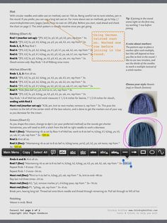 Tip for using your iPad as a knitting tool.  @Elizabeth Humphries this seems awesome!