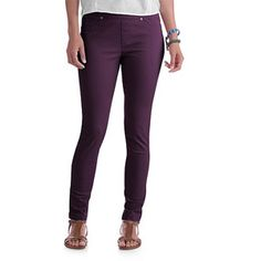 we're loving this eggplant color for fall... Faded Glory Women's Jeggings $12.88