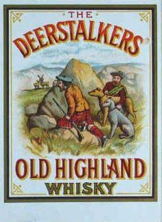 Deerstalkers Old Highland Whisky