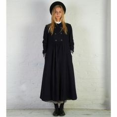 Cabbages and Roses A/W 2013 Navy Howard Coat