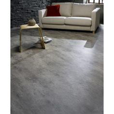 Sol PVC Oasis béton gris, TARKETT, 4 m | Leroy Merlin