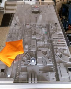Ultra Impressive Death Star Trench Run Themed Cornhole Game With Sound And Light Effects #DeathStarThings