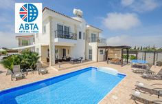 4 Bedroom Villa in Ayia Napa to rent from £833 pw, with a private pool. Also with balcony/terrace, air con, TV and DVD.