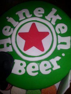 Heineken/casino cake