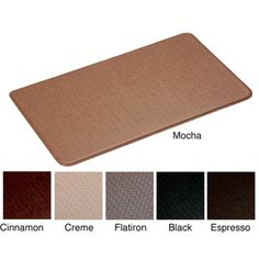 @Overstock - This Basket Weave Anti-fatigue Comfort Mat is perfect for many areas of the home including the kitchen, laundry or bathroom. This mat incorporates a multi-layer cushioning system consisting of a soft upper layer and cushion firm lower layer.http://www.overstock.com/Home-Garden/Basket-Weave-Anti-Fatigue-Comfort-Mat-20-x-36/6179477/product.html?CID=214117 $59.99