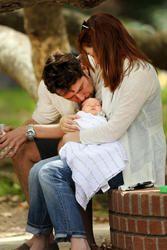 01 July 2012 | Alyson Hannigan, Alexis Denisof & daughters Satyana & Keeva | At a Park in Los Angeles