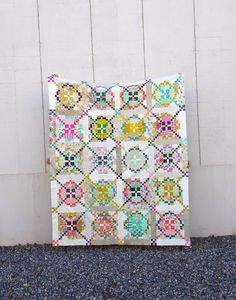 Justice Quilts & Crafts: My Not-So-Toned-Down Quilt