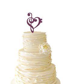 Glitter Music Note Heart  Wedding  Birthday  Acrylic