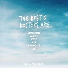 What 'Doctor' would you add to the list?  www.foodmatters.tv