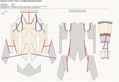 Connor Kenway Jacket Pattern