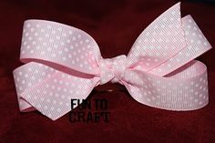 It's FUN to craft!: Hair Bows Part 2 {Tails}