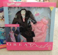 1992 Ken & Barbie - Great Date Fashions #