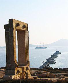 Portara - the landmark of Naxos