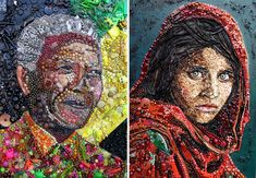 plastic-classics-found-objects-famous-portraits-jane-perkins-12
