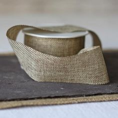 Hessian Burlap Ribbon - Sold By The Metre