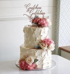 Flowers cake Buttercream Decorating, Cake Decorating, Wedding Cake Designs, Wedding Cakes, Buttercream Birthday Cake, Oreo Cake, Sweet 16 Parties, Fancy Cakes, Custom Cakes