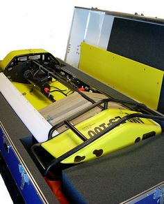 A South-Pak case designed for protecting and transporting an underwater robot. #USA #Manufacturing