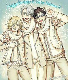 Mini-doujinshis de victor y yuri, e incluso de otros personajes perte… #detodo # De Todo # amreading # books # wattpad
