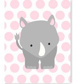 Rhino vivero arte Zoo vivero Decor vivero pared arte arte de Nursery Wall Decor, Nursery Prints, Nursery Art, Baby Room Art, Baby Room Decor, Zoo Decor, Zoo Art, Image Deco, Giraffe Nursery