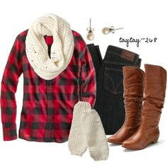 Comfy casual- plaid shirt
