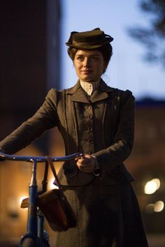 Eve Hewson as Lucy Elkins in The Knick.