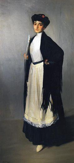 Robert Henri - Modiste of Madrid